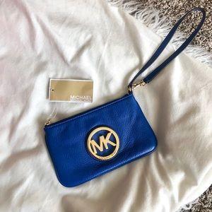 Michael Kors™️ Blue Wristlet